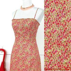 BCBGMaxAzria Stretch Cotton Summer Dress Sz 6
